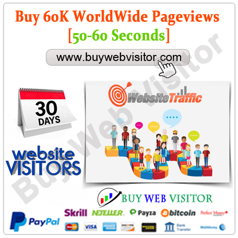 Buy 60K WorldWide Pageviews [50-60 Seconds]