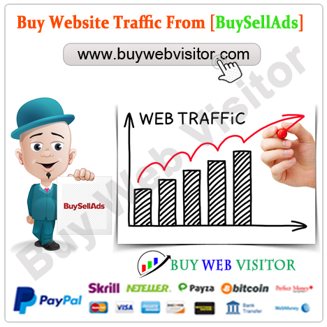 Buy BuySellAds Traffic