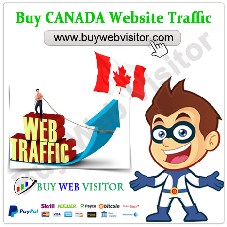 Buy CANADA Website Traffic