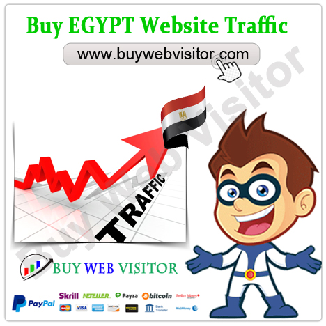 Buy EGYPT Website Traffic