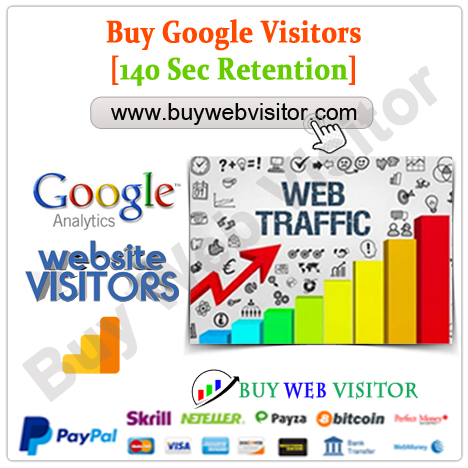 Buy Google Visitors 140 Sec Retention