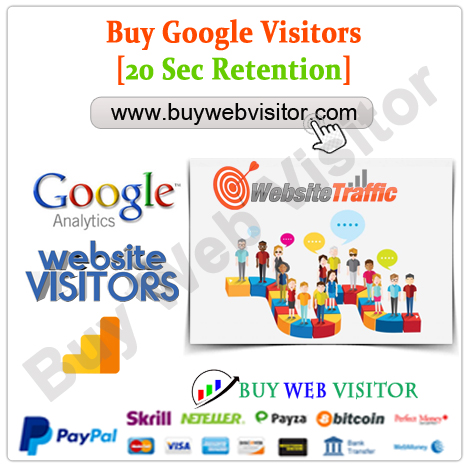 Buy Google Visitors 20 Sec Retention