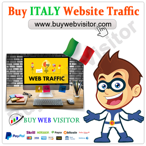 Buy ITALY Website Traffic
