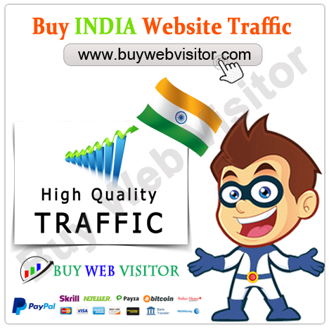 Buy India Website Traffic