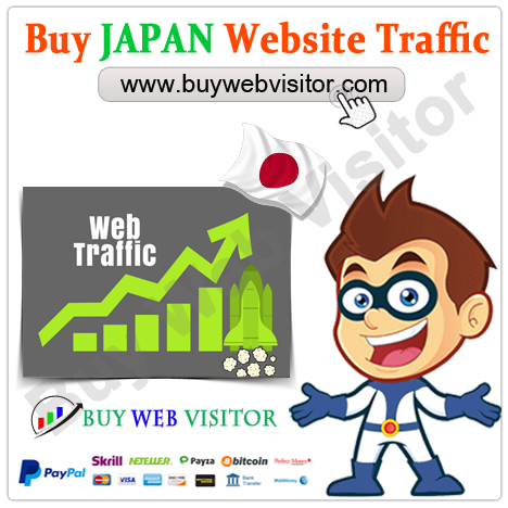 Buy JAPAN Website Traffic
