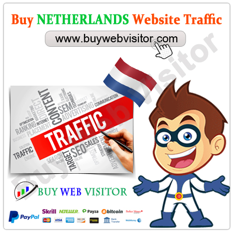 Buy NETHERLANDS Website Traffic