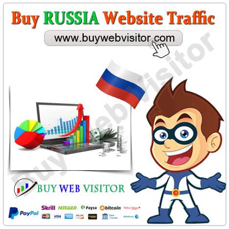 Buy RUSSIA Website Traffic