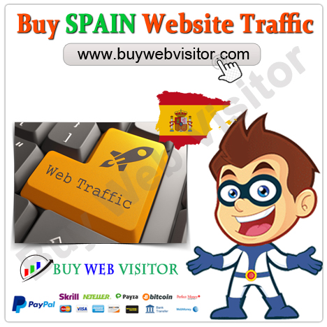 Buy SPAIN Website Traffic
