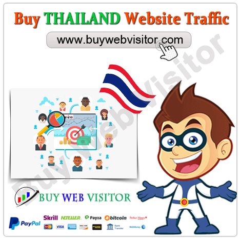 Buy THAILAND Website Traffic