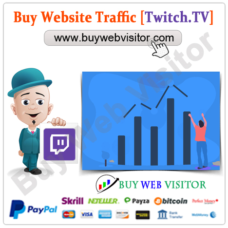 Buy Twitch Traffic
