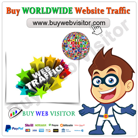 Buy WORLDWIDE Website Traffic