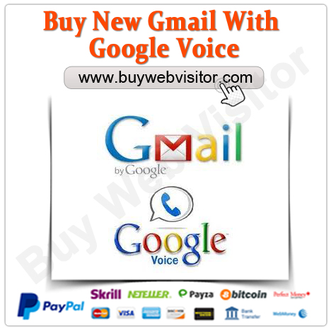 Buy New Gmail With Google voice