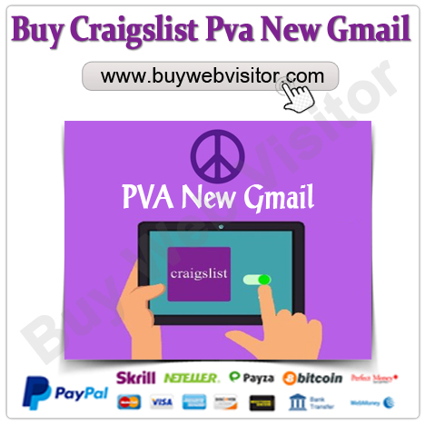 Buy Craigslist Pva New Gmail