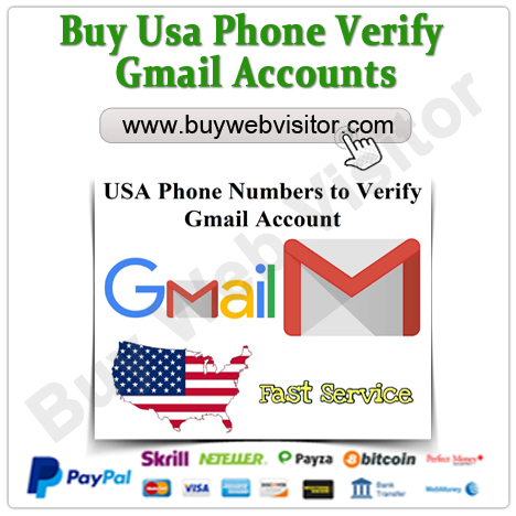 Buy Fresh usa phone verify gmail Accounts