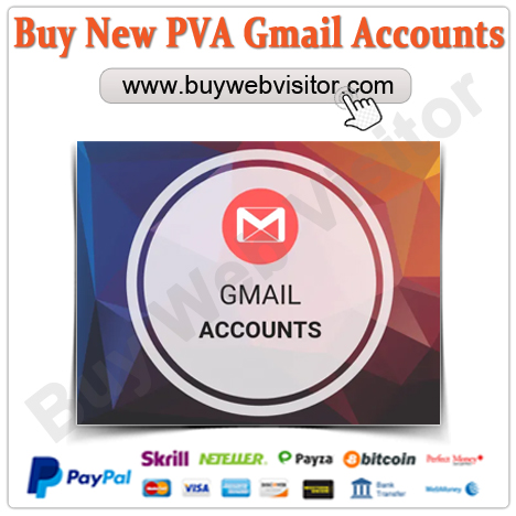Buy New PVA Gmail Accounts