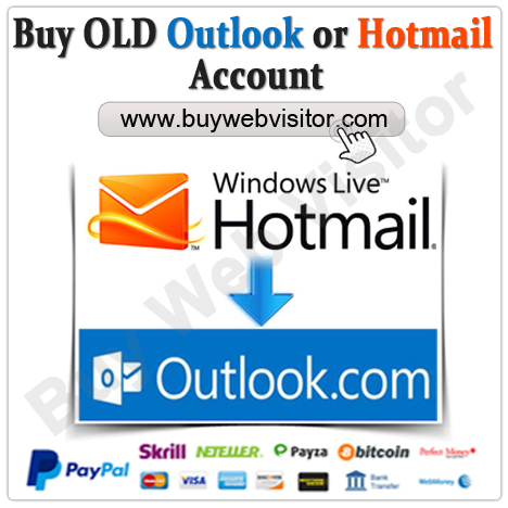 Buy Old Outlook or Hotmail Account