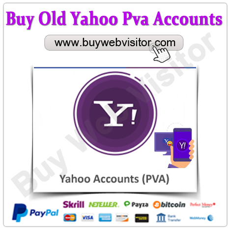 Buy Old Yahoo Pva Accounts